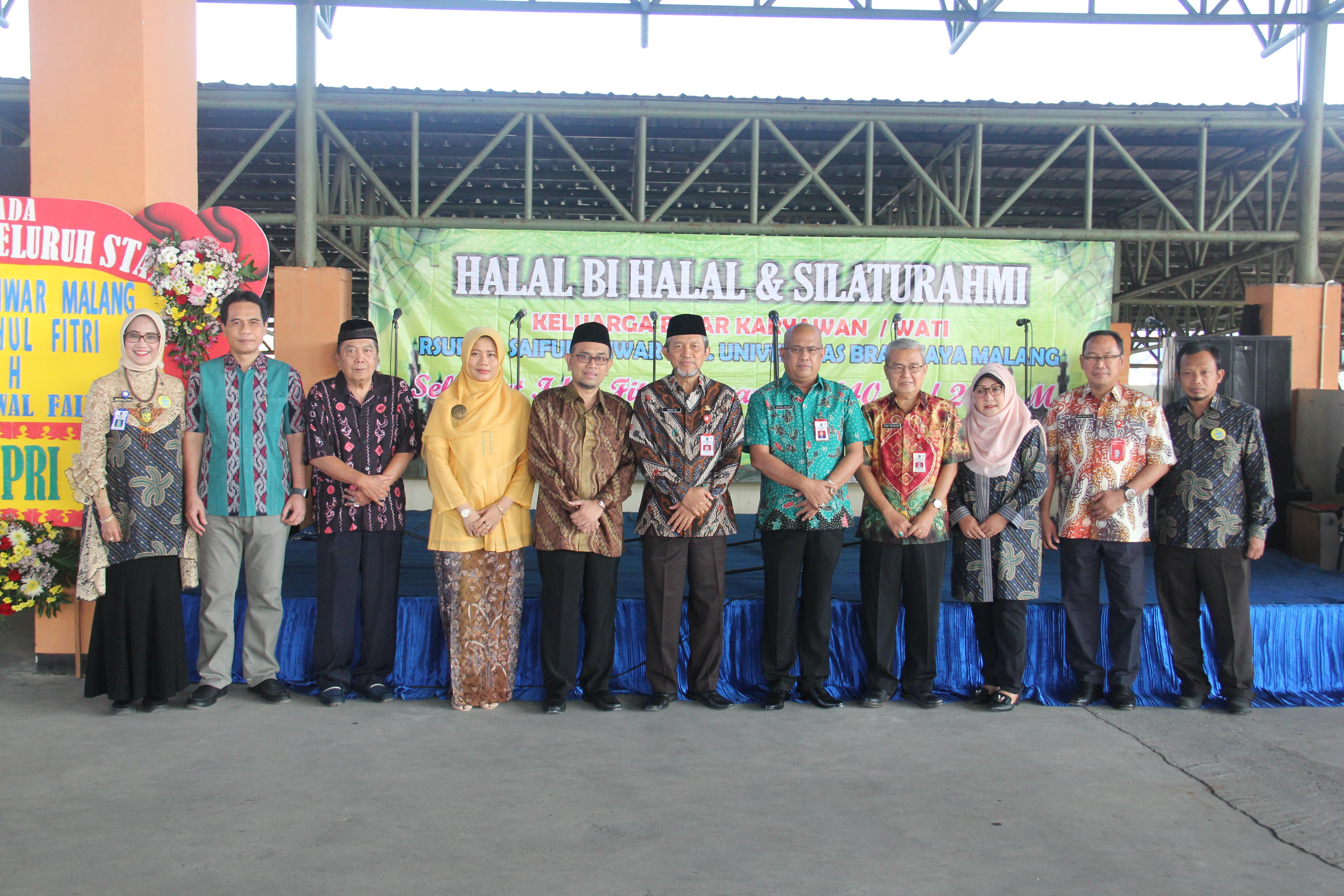 Halal bi halal & Silaturahmi keluarga besar RSUD Dr. Saiful Anwar Malang