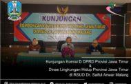 Kunjungan Komisi D DPRD & Dinas Lingkungan Hidup Provinsi Jawa Timur
