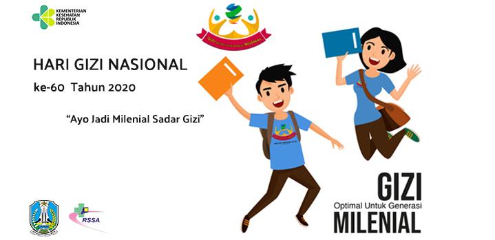 Peringatan Hari Gizi ke- 60 Thn 2020,Instalasi Gizi RSUD Dr.Saiful Anwar Malang